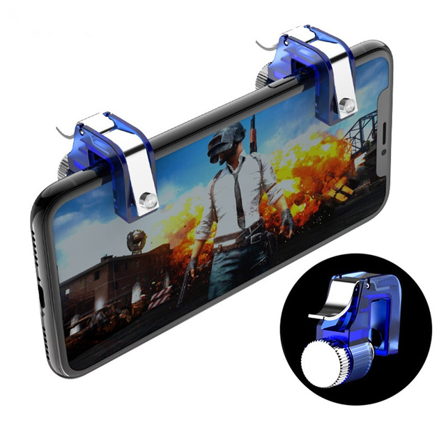 Metal Smart Phone L1R1 Gaming Shooter R11 PUBG Mobile Gamepad Smart Phone Holder For iPhone Samsung Huawei Xiaomi Trigger Pubg