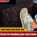 Freies verschiffen!! Auto Sitz Zurück Schutz Abdeckung Anti Kick Matte Für Audi Q2l Q5l Q7 A7 A5 Q3 Q5 TT A6L A6 a4L A8L A6L|Auto-Anti-Schmutz-Pad|   -