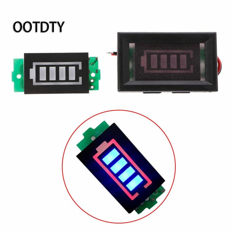 1S 2S 3S 4S 6S 7S Lithium Battery Capacity Indicator Module Blue Display 3.7V 8.4V 12.6V 16.8V 25.2V 29.4V Power Level 2s 3s 4s li ion lithium battery capacity indicator electricity power led display board meter tester 8 4v 12 6v 16 8v
