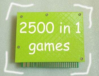 2500 in 1 TITAN BOX PCB board Arcade cartridge jamma Multi game board WITH VGA OUTPUT  Support save game progress  RUN 3D GAMES