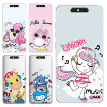 Case for ZTE Blade V8 V7 lite mini A330 A6 L7 Z MAX Z982 A910 A602 A610 A512 A521 A520 Cute soft silicon TPU Back Cover(China)