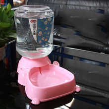 Automatic Pet Water Dispenser For Cats Dogs Puppy Food Drinker Feeder With Bowl Teddy Comedero Perro Pets Accessories 6d0206