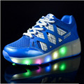 Glowing Sneakers Kids 2017 New High Quality Children Led Superfly Cheap Sport Shoes For Boy And Girls Shoes China