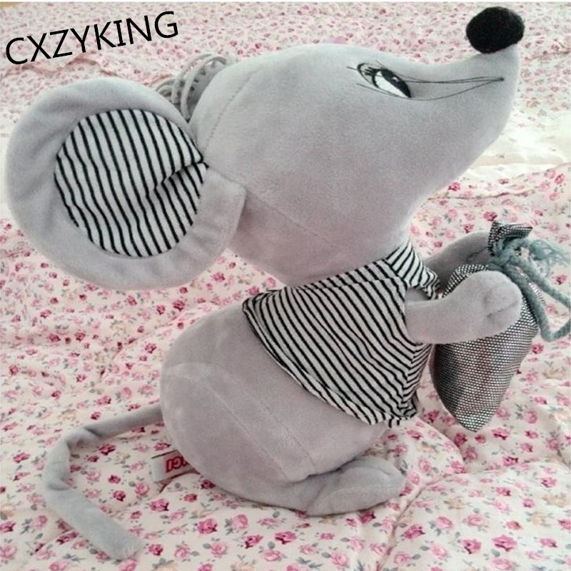 CXZYKING 30/40CM Plush Toys Doll Cute Mouse Doll Soft Stuffed Toy Animals Mouse Presents For Children super cute plush toy dog doll as a christmas gift for children s home decoration 20