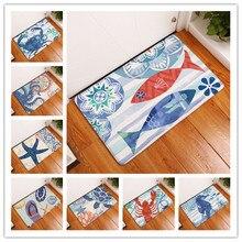 New Anti-Slip Carpets Marine life Print Mats Bathroom Floor Kitchen Rugs 40x60or50x80cm худи print bar new life