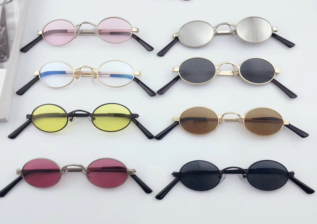 b45db8547e Sella 2018 New Classic Retro Fashion Small Oval Alloy Frame Sunglasses  Popular Men Women Round Tint Lens Sun Glasses Eyewear