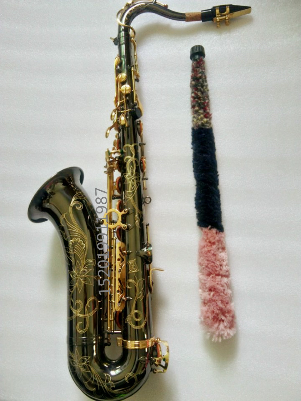 free Black nickel Gold French model Tenor Saxophone 802 sax B Flat Case Sax Professional Mouthpiece and Instruments Accesorios high grade tenor saxophone instrumentnew 802 model b tenor sax instruments wind tube black nickel gold key saxophone