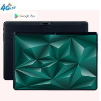 MTK6797 Android 9.0 10 Ten Core 10 inch Tablet PC 6GB RAM 128GB ROM 8.0MP WIFI A GPS 4G LTE 2.5D Tempered Glass IPS 1920 1200