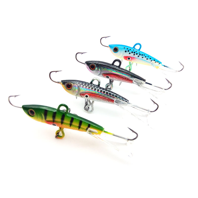4pcs 60mm 10g New Arrival Fishing Lure Winter Ice Fishing Hard Bait Minnow Pesca  Isca Artificial Bait Crankbait Swimbait Tackle walk fish 5pcs lot isca artificial fishing lure 13cm 21g crankbait hard fishing bait swimbait pesca lures pike fishing tackle