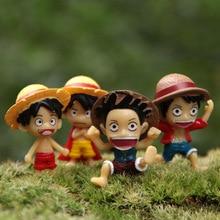 Luffy Emoticon Figurines Set [4pcs]