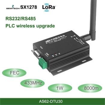 LoRa DTU 433MHz  SX1278 RS485 RS232 Interface rf DTU Transceiver 8km FEC Wireless uhf Module 433M rf Transmitter and Receiver 433mhz lora sx1278 rs485 rs232 interface rf dtu transceiver 3km wireless uhf module 433m industrial grade date transmission unit