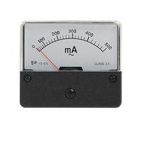 AC 500mA прямоугольный Панель Аналоговый амперметр YS-670