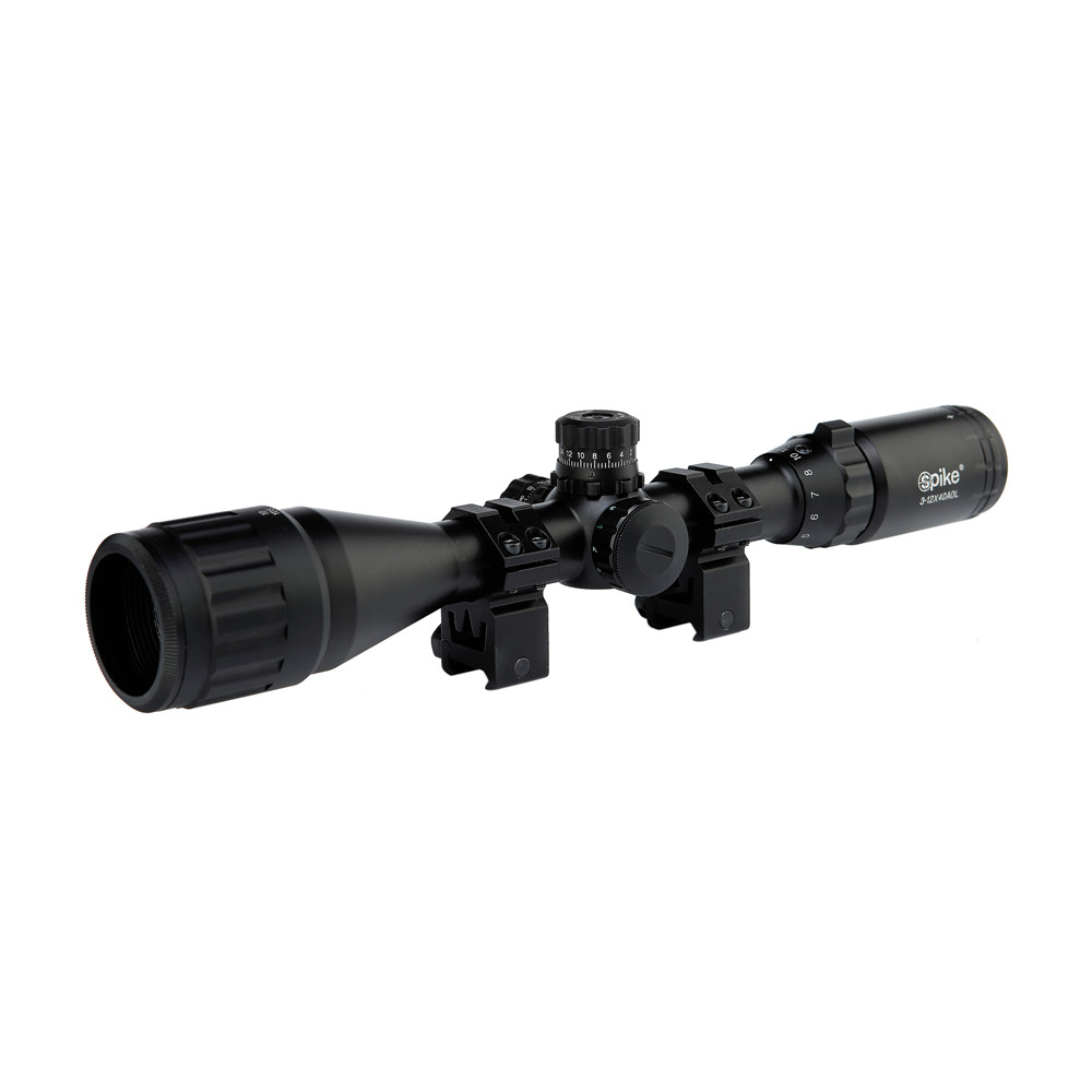 3-12X40AOL Hunting Riflescopes Green Red Dot Illuminated Reticle Sight Scope Tactical Airsoft Guns Scopes Holographic Sight hunting red dot illuminated scopes for airsoft air guns riflescopes tactical reticle optics sight hunting luneta para rifle