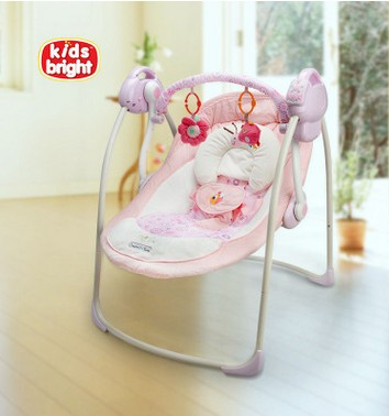 European and American luxury music baby electric rocking chair An armchair baby electric cradle swing