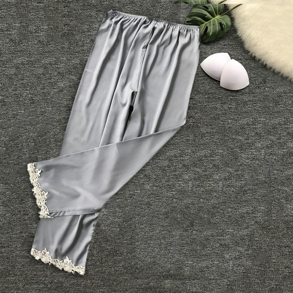 Damen-nachtwäsche Gutherzig Frauen Sexy Spitze Nachtwäsche Hosen Pijama 2019 Neue Gecelik Solide Komfortable Satin Sling Für Weibliche Nette Weiche