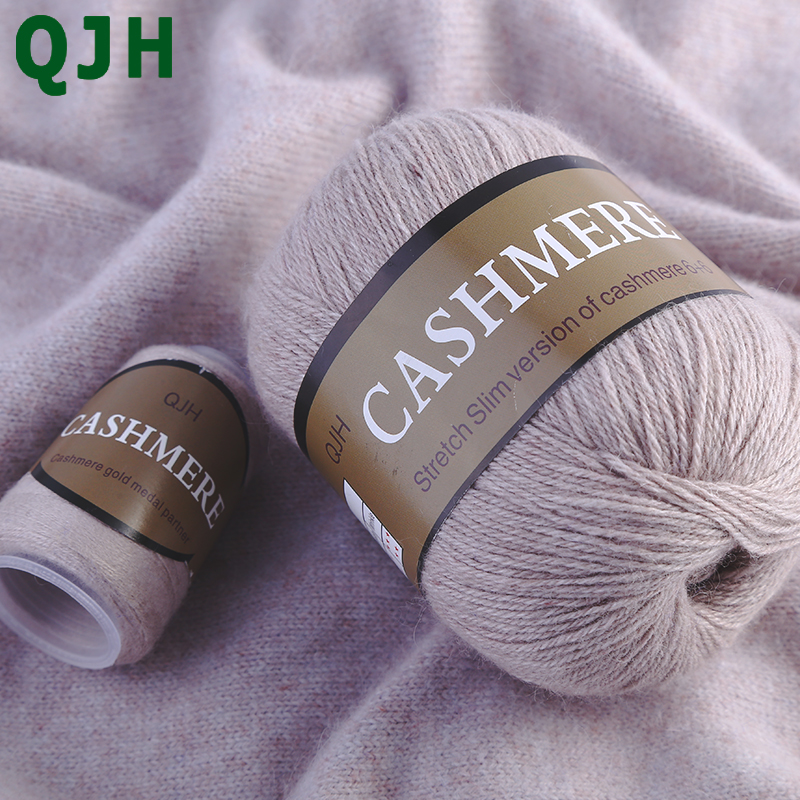 700g 100 pure cashmere Hand knitted yarn sales Knitting yarn for hand knitting crochet yarn DIY