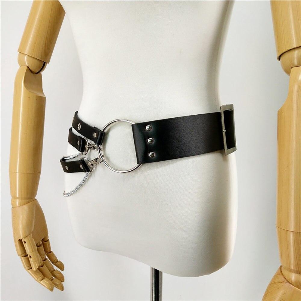 Leather-Harness-Chain-Belt-Pole-Dance-Stockings-Wedding-Garter-Belt-Bdsm-Bondage-Pastel-Goth-Sexy-Suspenders-(4)