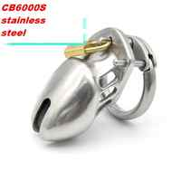 Stainless Steel CB6000S male   CB bondage male chastity device pants male belt male chastity sex toy penis rings