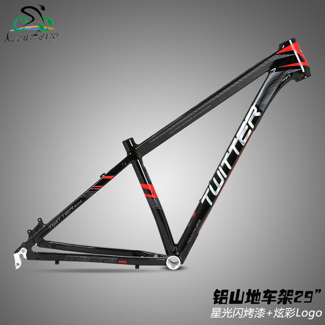 Twitter Mantis2.0 Mountain Bike Aluminum Alloy Frame 29er MTB Bicycle AL6061 15.5 17 19 inch Frame Cycling Parts hot selling 17 inch mtb bike raw frame 26 aluminium alloy mountain bike frame bike suspension frame bicycle frame