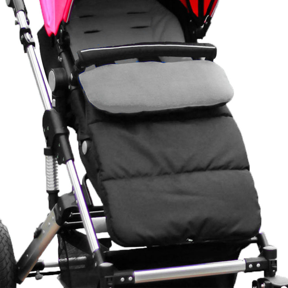 купить Baby Sleeping Bag Infants Windproof Stroller Cotton Wrap Toddler Kids Pram Footmuff Universel Winter Envelope Sleeppack недорого