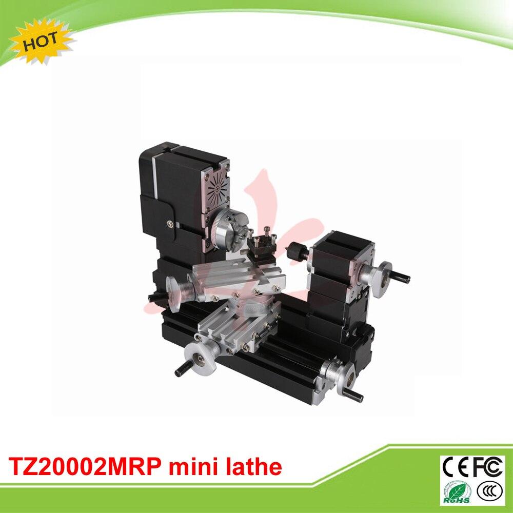Mini metal lathe machine TZ20002MRP Big Power Mini Metal Spinning Lathe for teaching and DIY