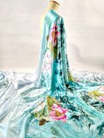 מכירה החדשה חמה הדפסי פרחי לוטוס בוטון 19 מ