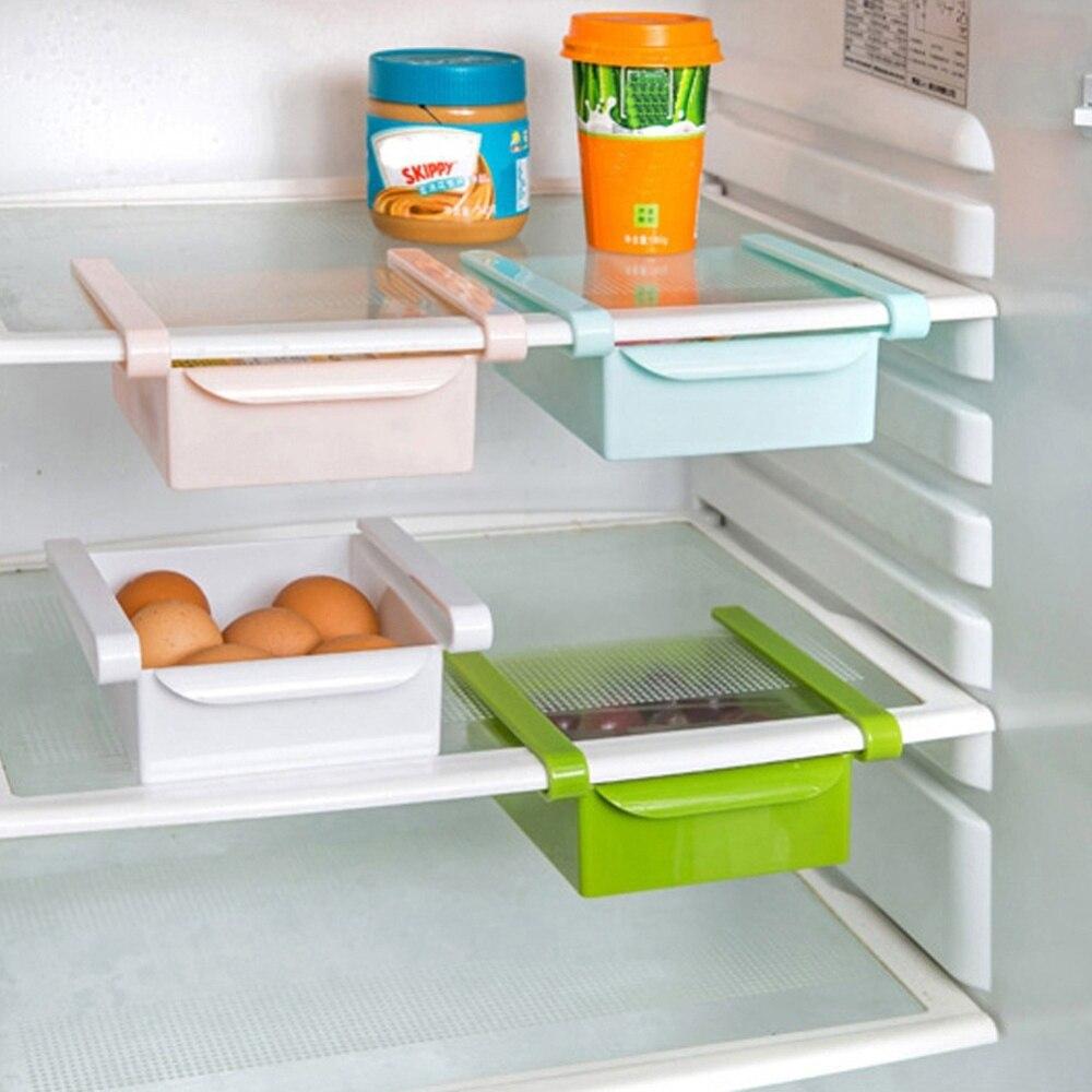1 STÜCK Neue Mode Kühlschrank Ablage Küche Gefrierschrank Platz ...