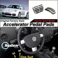 Car Accelerator Pedal Pad / Cover of Original Factory Sport Racing Model Design For VW Volkswagen New Beetle Tuning