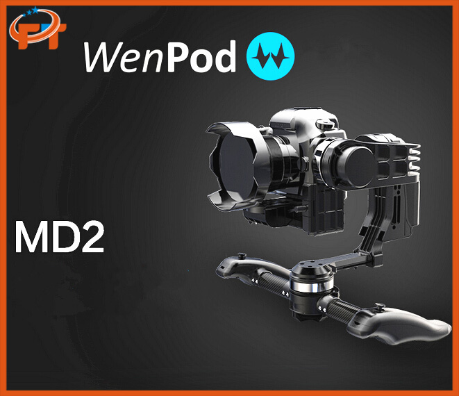 WenPod Official MD2 64 Bits GIMBAL Intelligent Auto Calibration 3-Axis DSLR gyropode camera drone accessories fpv photography