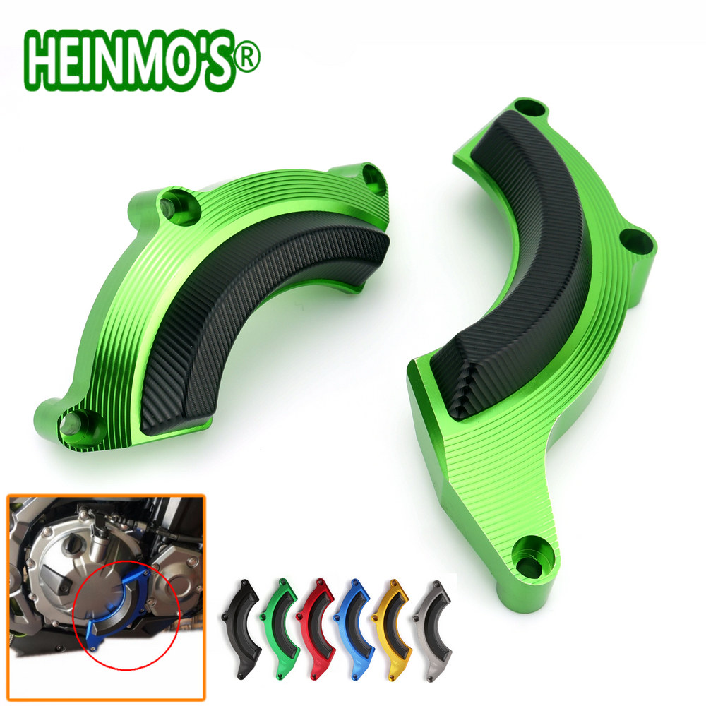 New Motorcycle Accessories Z900 Engine Stator Cover Frame Motos Slider Protector For Kawasaki Z900 2017 Green kemimoto for kawasaki z900 2017 frame slider engine guard protection case saver for kawasaki z 900 2017 moto parts accessories