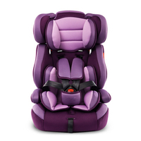 Portable Thick Car Seat For Kid And Children 5 Point Harness Safe Cushions For 9M 12Y