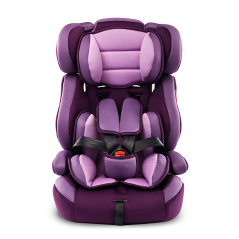 Portable Thick Car Seat For Kid And Children 5 Point Harness Safe Cushions For 9M~12Y Children With Safety Belt Safety Baby Seat new professional safety rock tree climbing rappelling harness seat sitting bust belt safety harness