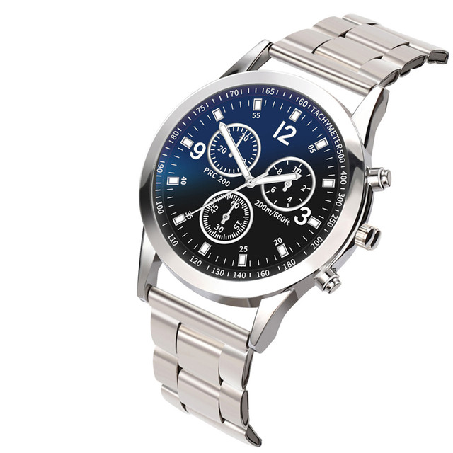 Mens Business Male Watch 2018 Fashion Classic Quartz Stainless Steel Wrist Watch Watches gift for Men Clock relogio masculino