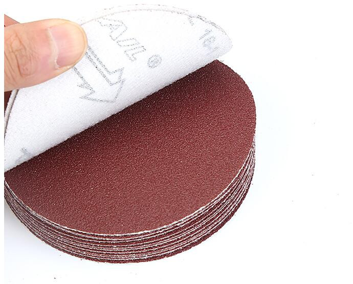 Image 5 - 30pcs 3 inch 75mm 80mm Round sandpaper Disk Sand Sheets Grit 320/400/600/800/1000/1500 Hook Loop Sanding Disc for Sander Grits-in Abrasive Tools from Tools
