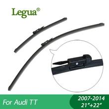купить 1 set Wiper blades for Audi TT(2007-2014),21+22,car wiper,Boneless wiper, windscreen, Car accessory дешево
