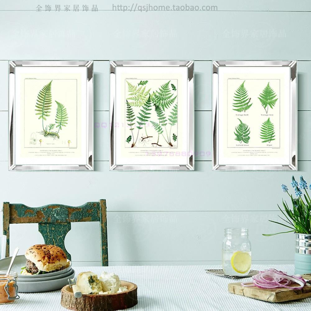 moda espejo de pared moderna de marcos marcos de fotos de la pared mural decorativo