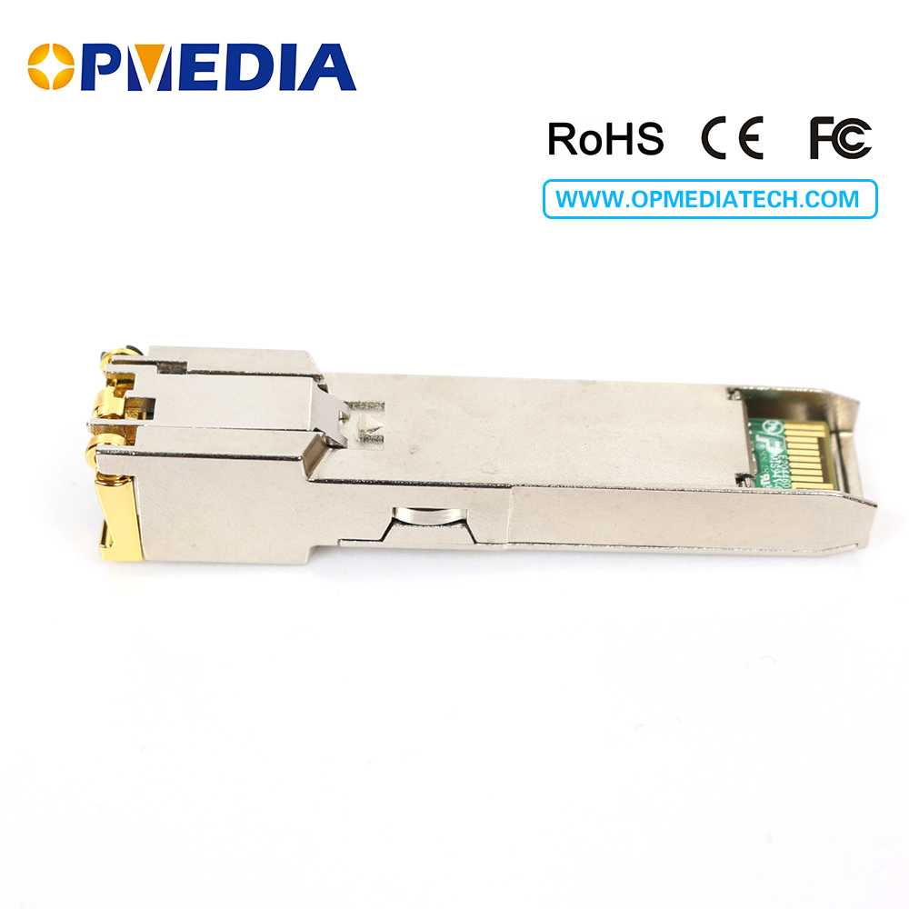 1000Base-T Copper SFP TRANSCEIVER, 1000M optisk modul, RJ45-kontakt, - Kommunikationsutrustning - Foto 2