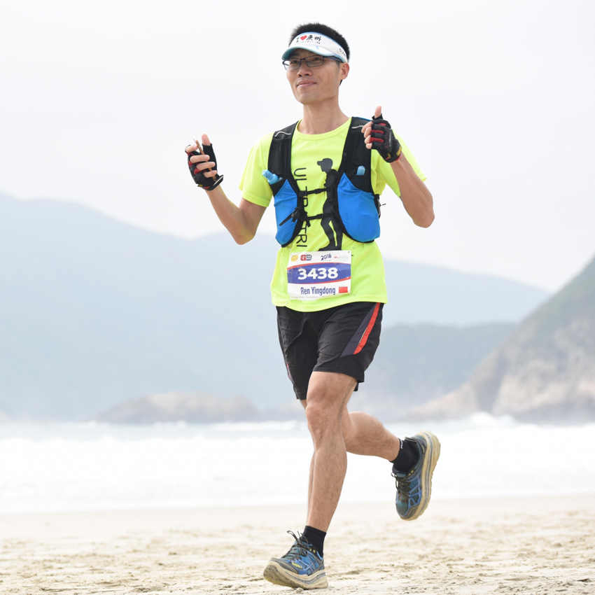 ULTRA-TRI Hydration plecak do biegania kamizelka Ultra Trail Run lekki maraton wyścigowy Mochila torba sportowa Speedvest niebieski 8L