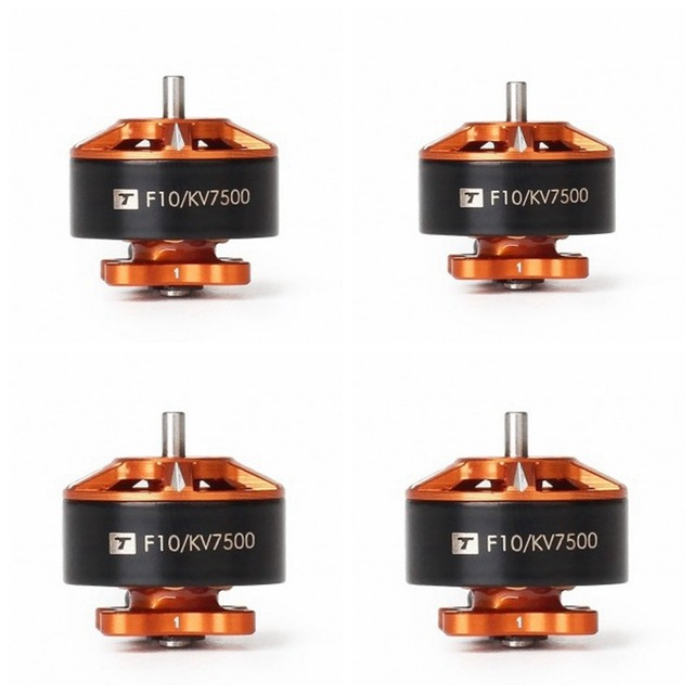 T-motor F10 1104 7500KV KV7500 2-3S Brushless Motor for FPV Racing RC Drone 90mm 110mm Quadcopter Frame Propeller Accessories