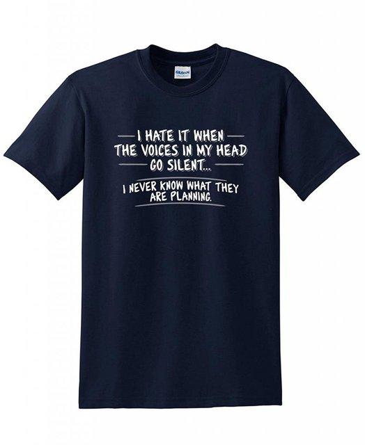 T Shirt Zomer Casual Korte O Hals Beste Vriend Mens Ik Haat Het