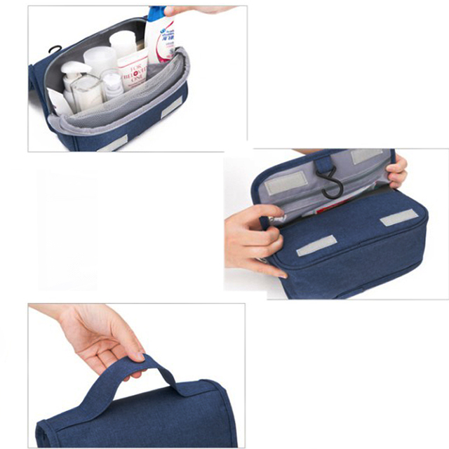 Civil Aviation Shower Bag Cosmetic Bag make-up Cases Beauty bath Tour Hanging Organizer portable Washing  toiletry Storage bags 5