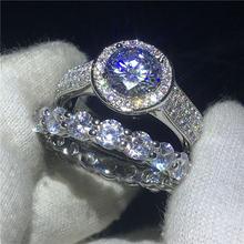 Женское Обручальное кольцо solitaire promise обручальное из
