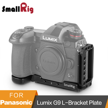 SmallRig G9 L Bracket Plate for Panasonic Lumix G9 Arca-Swiss Standard L Plate Mounting Plate - 2191 g9 p9 converter 30kw 37kw 45kw 55kw power driven plate plate ep 3531f