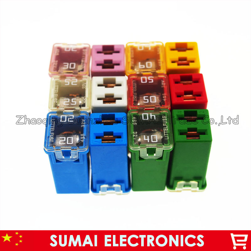 20A to 60A Original rectangle medium type Auto fuse,Japan and USA car fuses for Honda Toyota Audi BMW VW etc.20A to 60A Original rectangle medium type Auto fuse,Japan and USA car fuses for Honda Toyota Audi BMW VW etc.