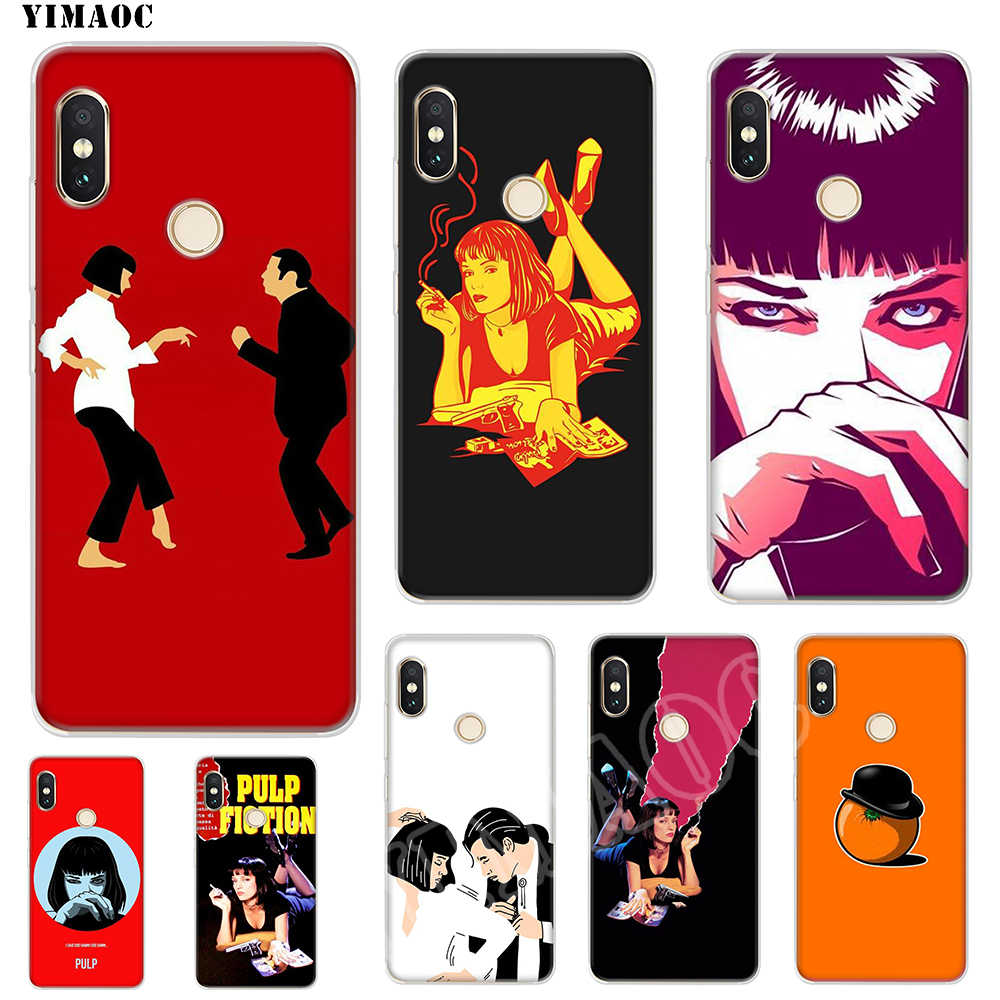 YIMAOC film Pulp Fiction Soft Case TPU Silicone Cover for iPhone 8
