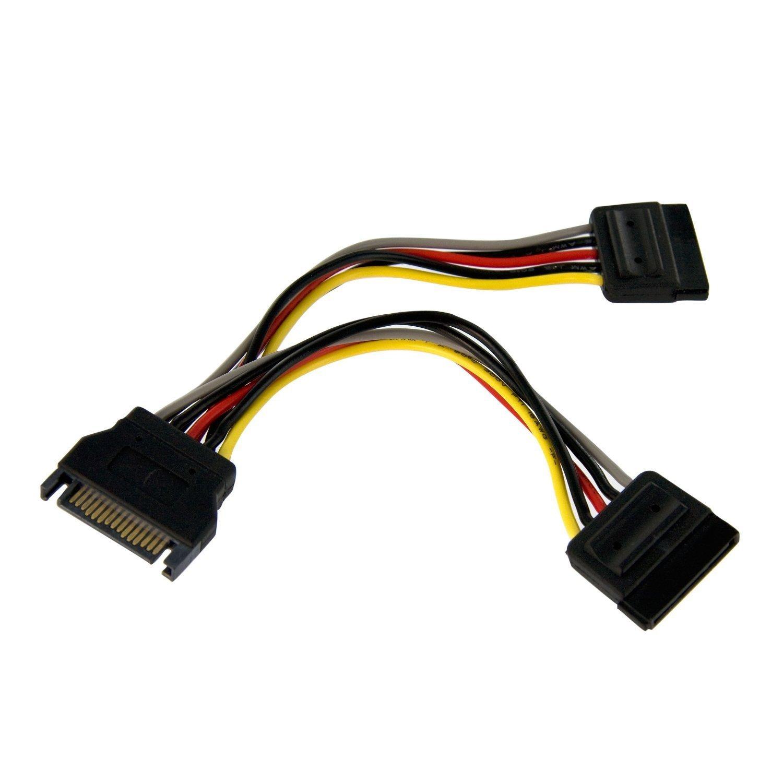 Разветвитель Кабеля Питания LNHF 6in SATA-M/F (кабель питания)