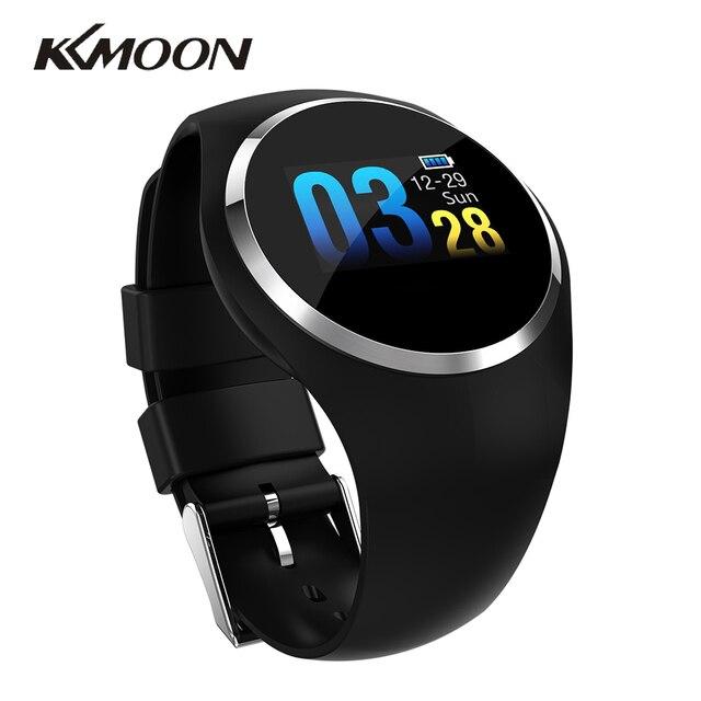 2019 el más nuevo KKMOON Q1 de moda reloj inteligente de Monitor de presión arterial recordatorio sedentario Smartwatch hombres y mujeres para Android