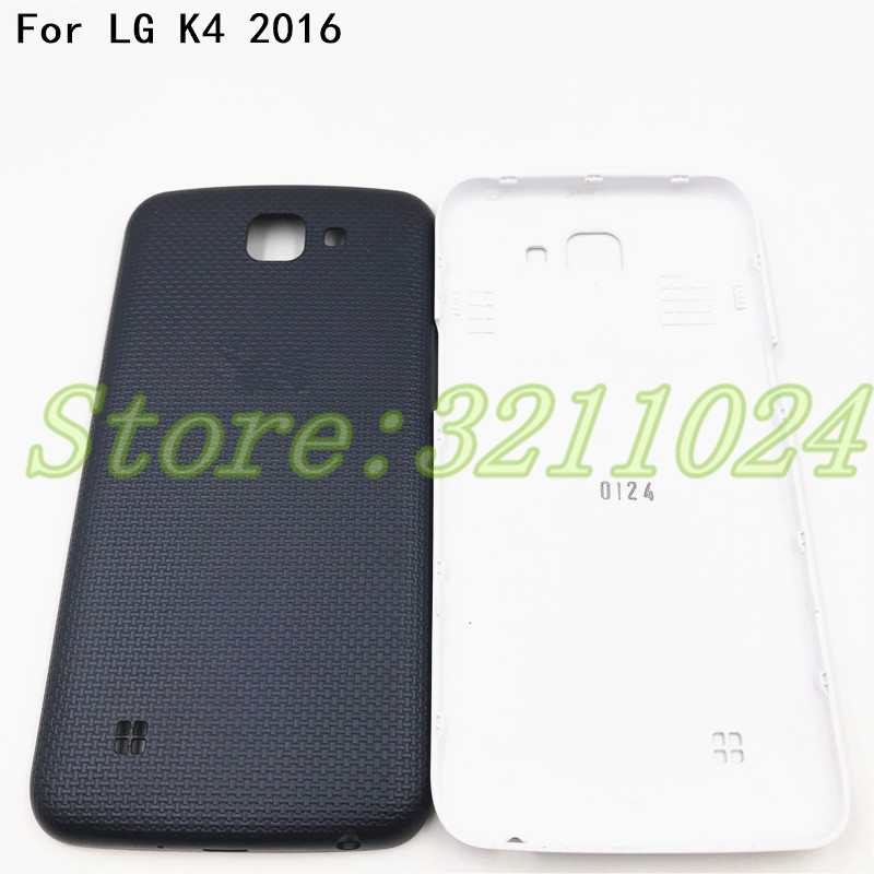 New Original 5.0 inches Battery Back Cover For LG K4 2016 Back Battery Cover Rear Door Housing Case With Logo