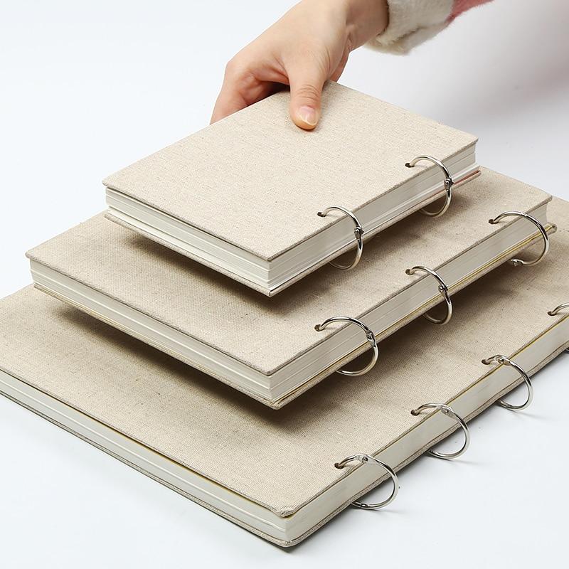 Bgln 8 K/16 K/32 K Esboço de Papel Papel Para Desenho Pintura Sketchbook Notepad Diário Notebook Profissional artigos de papelaria material de Arte