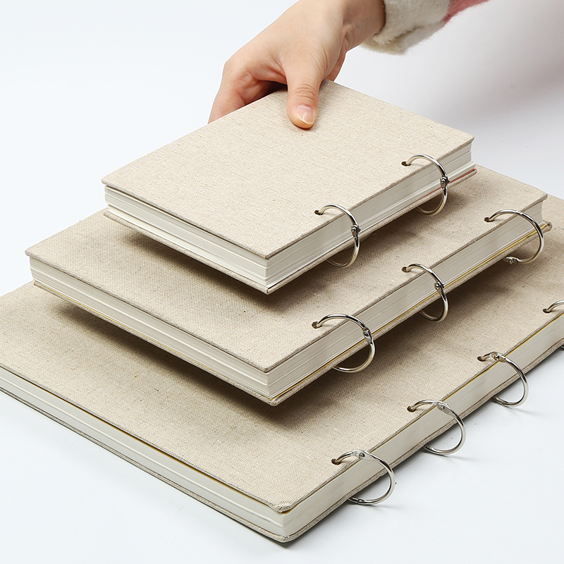 Bgln 8K/16K/32K Sketch Paper Sketchbook Paper For Drawing Painting Diary Professional Notebook Notepad Stationery Art Supplies